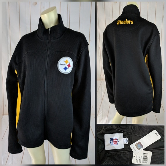 new style 22522 02c0c NFL.com Pittsburgh Steelers Jacket L New Licensed NWT